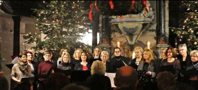 Auftritt beim Adventskonzert der Chöre in der Ev. Barockkirche 2019
