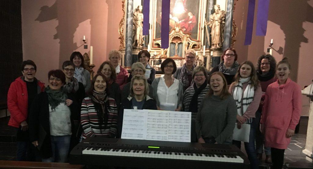 Auftritt beim Adventskonzert der Chöre in St. Franziskus-Xaverius Eckenhagen